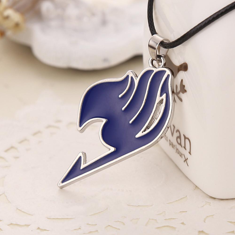Кулон Хвост Феи Fairy Tail синий