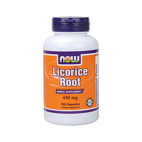 Корень солодки (Licorice Root), 450 мг, 100 капс. Украина