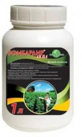 Бомбардир Аква застосовується проти трипсів, колорадського жука, білокрилки, попелиці.