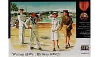 Женщины на войне :моряки ВМФ США    1\35    Master Box 3556