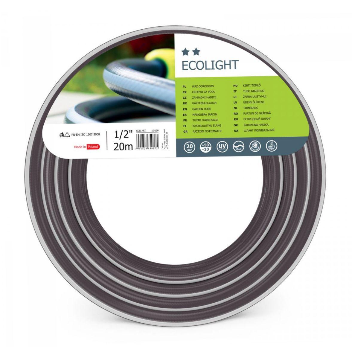 Шланг для поливу cellfast Ecolight 3/4 дюйма 20 метрів