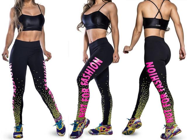 Женские спортивные легинсы, лосины для фитнеса
