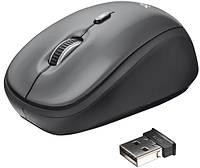 Мышь компьютерная Trust Yvi Wireless Mini Mouse Black