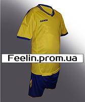 Футбольная форма Derbi детская\подростковая (Дерби желтая)