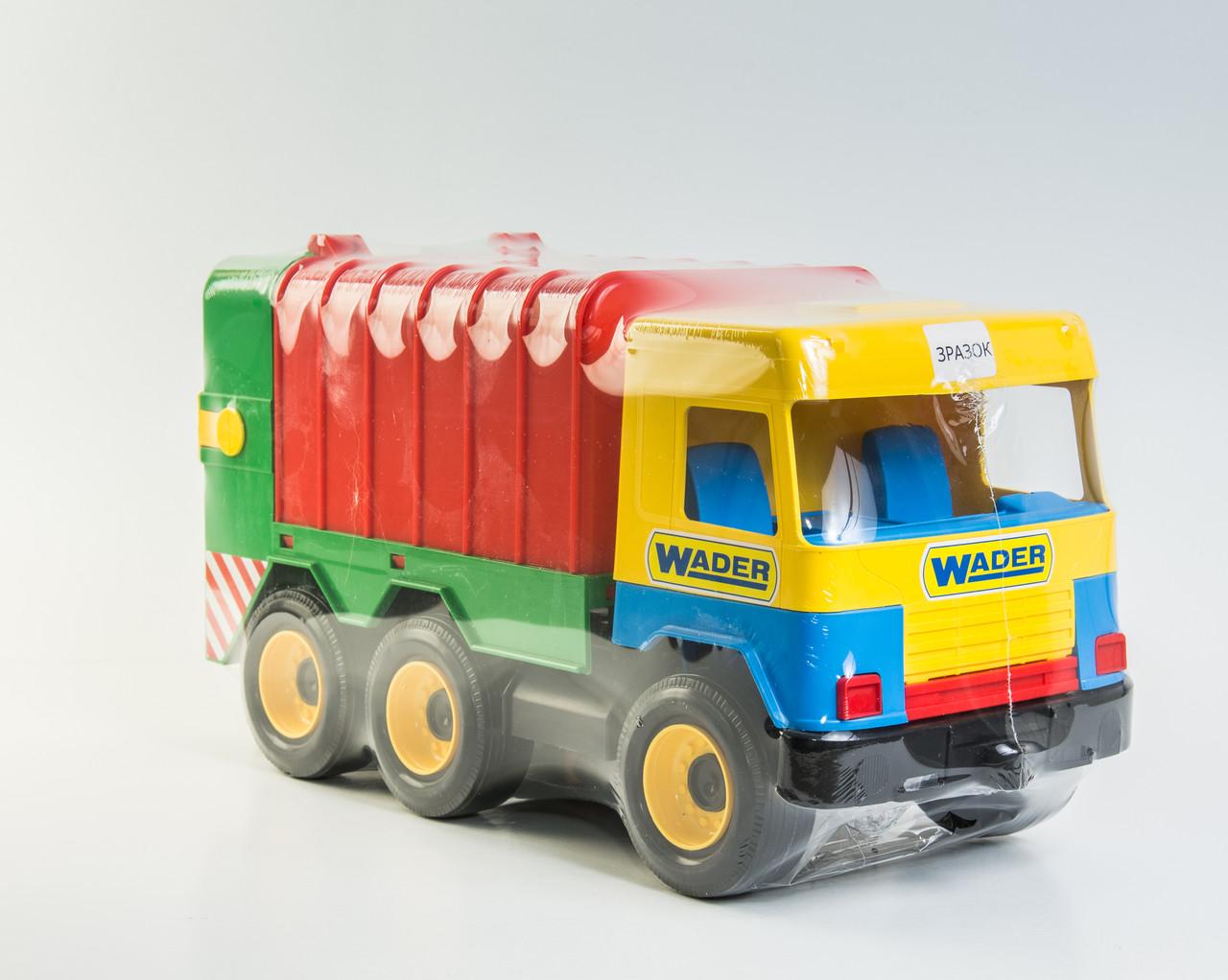 Машина сміттєвоз Wader Middle truck