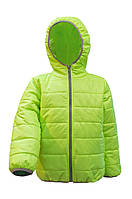 Весенняя детская куртка с серой оконтовкой (Размеры: 104, 110, 116)