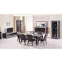 """Красивая мебель в гостиную """"Элизабет"""" (черная), фото 1"""