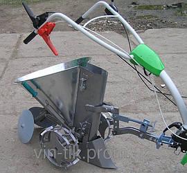 Картофелесажалка ТМ Ярило (цепная, 30 л, с транспорт. колесами, бункер для удобрений)