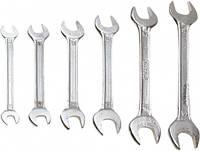 Ключи с открытым зевом, 10-22 мм, набор 8 шт. (шт.) Top Tools (35D256)