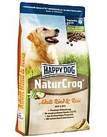 HAPPY DOG Naturcroq Говядина и Рис 4 kg
