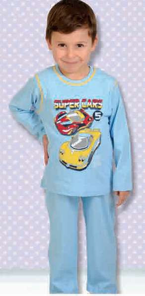 Пижама 201 синяя 1 - 5 лет