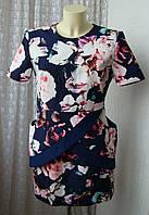 Платье женское шикарное модное красивое демисезонное мини бренд Finders Keepers р.48 6163