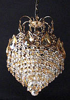 Люстра хрустальная (1 лампа)