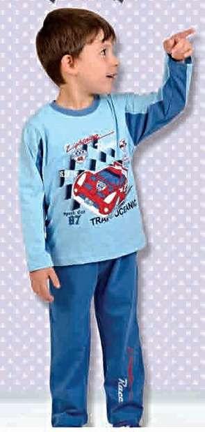 Пижама 206 синяя 1 - 5 лет