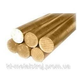 Пруток бронзовый БрАЖ9-4 ф25