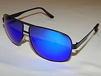 Солнцезащитные очки Giorgio Armani синие линзы 752036