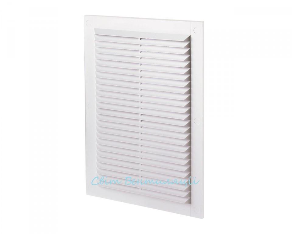 Вентиляционная решетка прямоугольная ДВ 125-1с,238Х170 мм