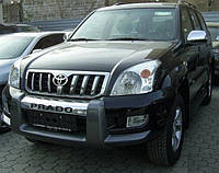 Губа переднего бампера для Toyota Prado 120 (2003 - 2008)