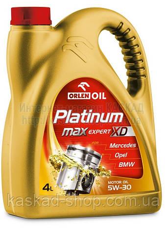 Масло моторное Platinum Max Expert XD 5W-30  4L, фото 2