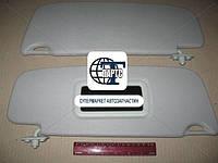 Козырек солнцезащитный ВАЗ 1118 с зеркалом (пр-во Россия)