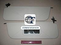 Козырек солнцезащитный ВАЗ 2106 с зеркалом (пр-во Россия)