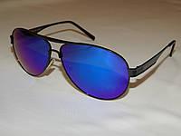 Солнцезащитные очки Giorgio Armani синие линзы 752039