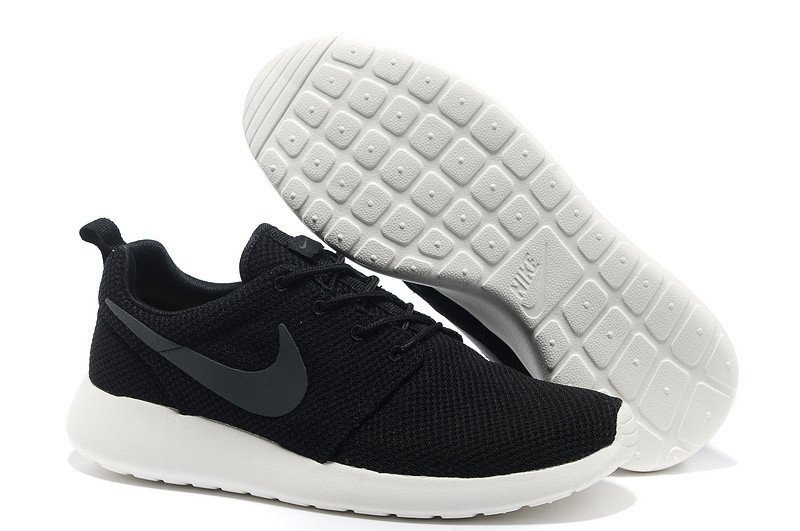 Кроссовки Nike Roshe Run Black Grey