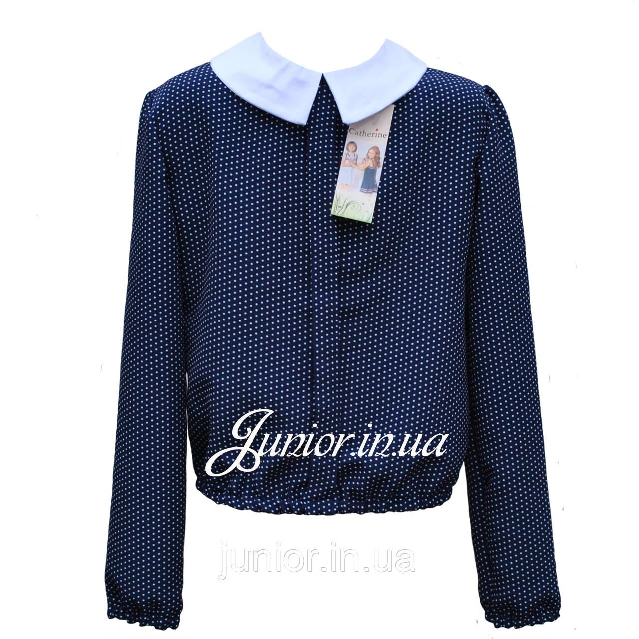 b1c86fbf4f5 Школьная блуза в горошек для девочки.Catherine (Польша)  продажа ...
