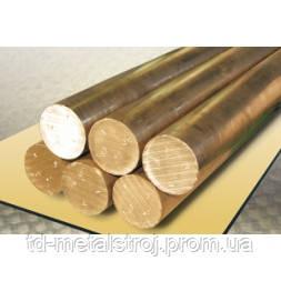 Пруток бронзовый БрАЖ9-4 ф60