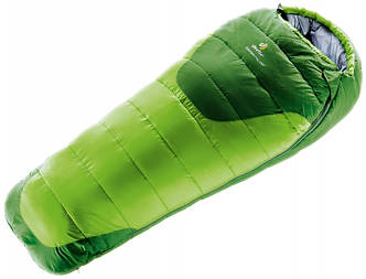 Детский спальный мешок Deuter Stralight Pro EXP kiwi-emerald (3720215 2206 1)
