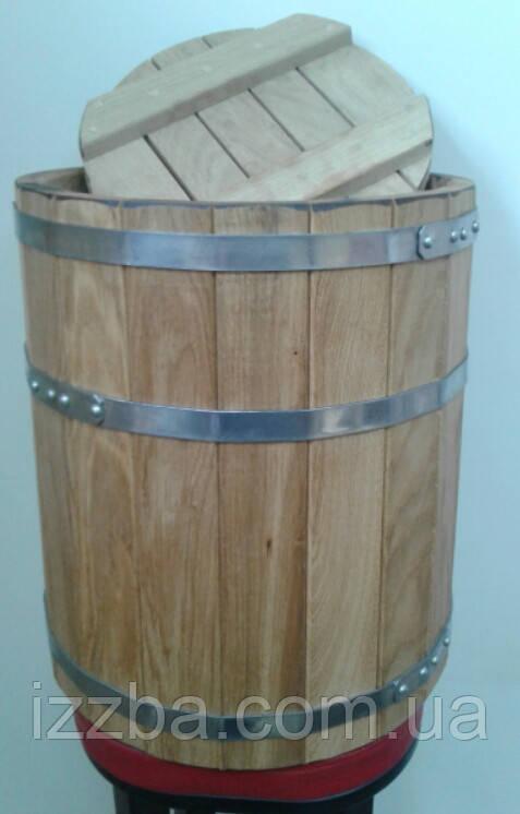Бочки для засолки, кадка дубовая 100 литров