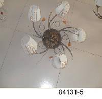 Люстра потолочная (5 плафонов, броза)