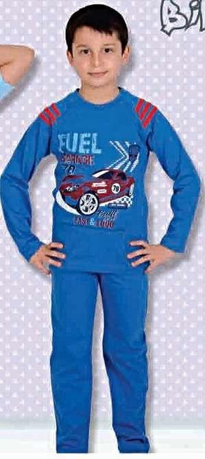 Пижама 309 синий 6 - 10 лет