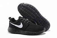 Кроссовки Nike Roshe Run Black Solo , фото 1