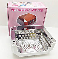 Ультрафиолетовая Led лампа для наращивания ногтей Гарантия 6 месяцев