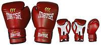 Перчатки боксерские MATSA 0033-R