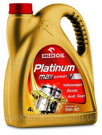 Масло моторное Platinum Max Expert V 5W30  4L, фото 2