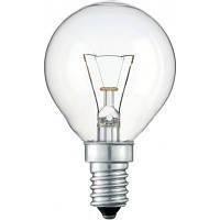 Лампа накаливания Philips шарик 60W E14 прозрачная