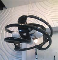 Люстра - модерн акриловая (3 лампы, 4 цвета каркаса)