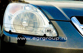 Защита фар CRV  2002-2004