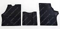 Резиновые коврики Мерседес Вито 638 (модельные коврики Mercedes Vito 638, комплект 3 шт)