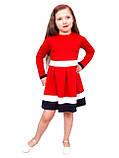 Плаття дитяче з довгим рукавом М -982 зростання 98 104, фото 2