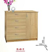 Комод К-4+1 Пехотин