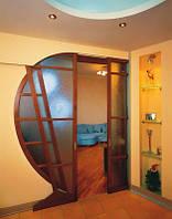 Выравнивание стены с дверью гипсокартоном