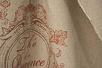 Ткань для штор лен Provence 2