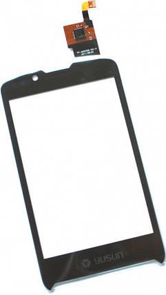 Сенсор FLY IQ260 Blackbird (оригинал), тач скрин для телефона смартфона, фото 2