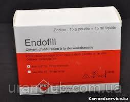 Материал для пломбирования каналов с дексаметазоном Эндофил Endofill 15+15