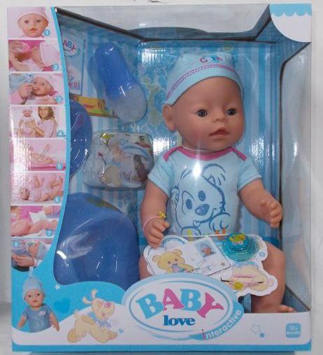 """Пупс """"Baby Born"""" ВL 014 B функциональный"""