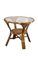 Обеденный стол Calamus Rotan Twist 05/T