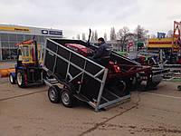 Прицеп самосвал для перевозки сельхозтехники! 2 тормозных торсиона!